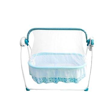 Amazon.com: Cama de cuna eléctrica para bebé, cesta de ...