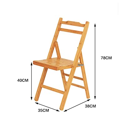 Surprising Amazon Com Ajzgfdining Chair Kitchen Chair Solid Bamboo Uwap Interior Chair Design Uwaporg
