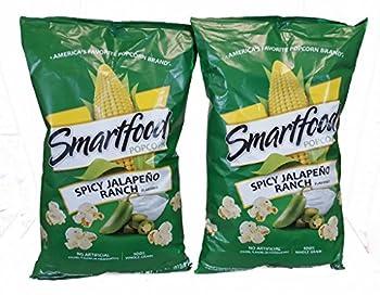 Smartfood Popcorn Spicey Jalapeno Ranch Flavor 2 - 7.5oz Bags