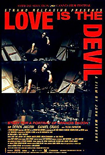 Love Is the Devil: Study for a Portrait of Francis Bacon 1998 One Sheet Poster