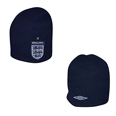 Umbro Adult England Warm Ski   Skate Beanie   Winter Hat - One Size Fits  All  Amazon.co.uk  Clothing 01df0fd0639d
