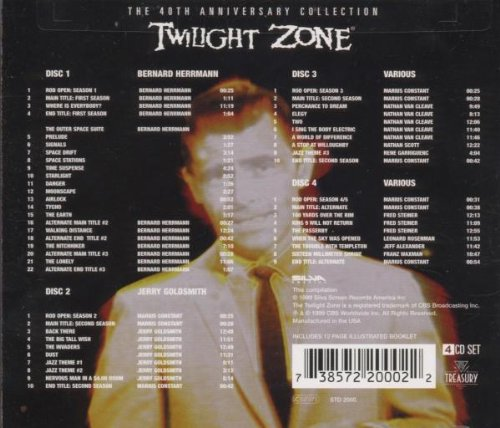 The Twilight Zone: 40th Anniversary Collection (Television Series Scores)