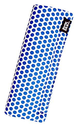 Seat Belt Shoulder Pad Blue Polka Dots by Shoulder Bug -