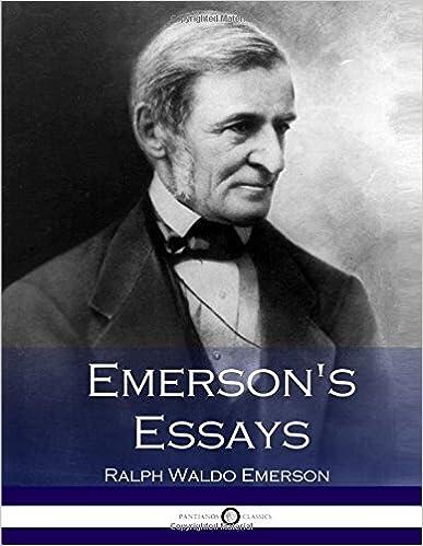 Emerson Supplement Essay Help?