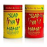 Slap Ya Mama Cajun Seasoning Original & Hot Blend 8 oz Two Pack