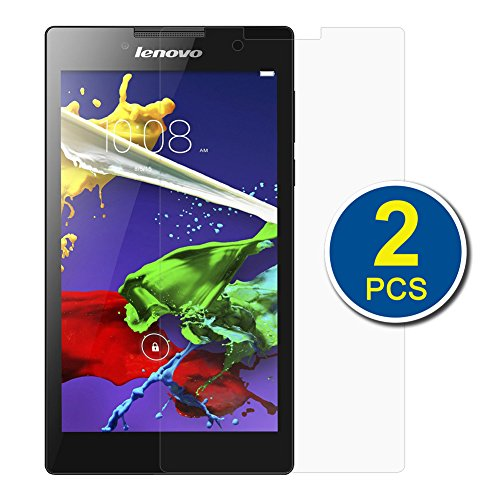 BIRUGEAR Lenovo Tab 2 A7-30 Screen Protector, ( 2-Pack) Premium HD Crystal Clear LCD Screen Protector for Lenovo Tab 2 A7-30 (A3300) 7 inch 2015 2 Gen Android 4.4 Tablet