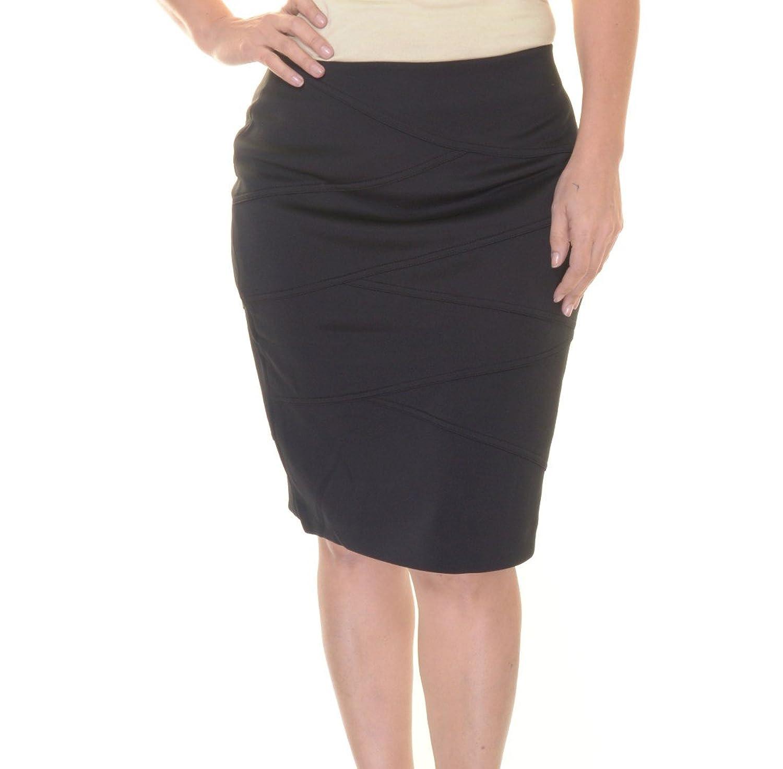 Alfani Scuba-Panel Pencil Skirt Size S