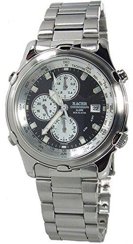 W70716-6 Reloj Racer Hombre, crono, doble alarma, caja y