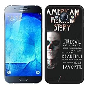 Unique Samsung Galaxy A8 Case ,Hot Sale And Popular Designed Case With american horror story title Black Samsung Galaxy A8 Skin Cover Great Quality Phone Case