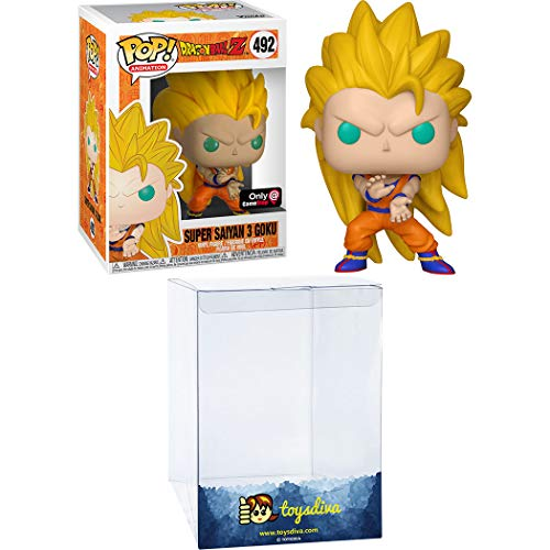 Pop Animation Dragon Ball Z – Super Saiyan 3 Goku Pop! Figura de Vinilo #492