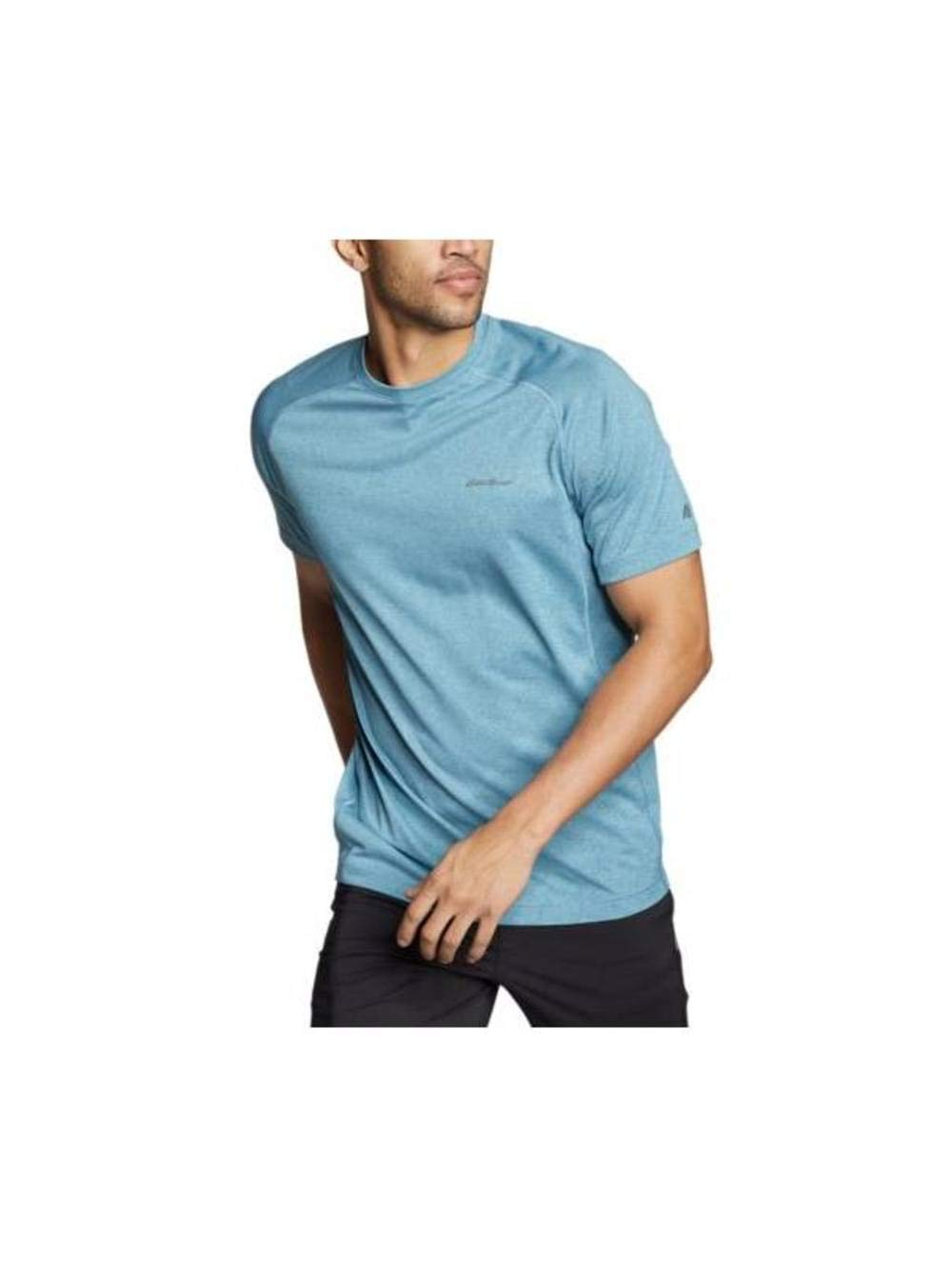 Eddie Bauer Men's Resolution Short-Sleeve T-Shirt, Rain Regular S