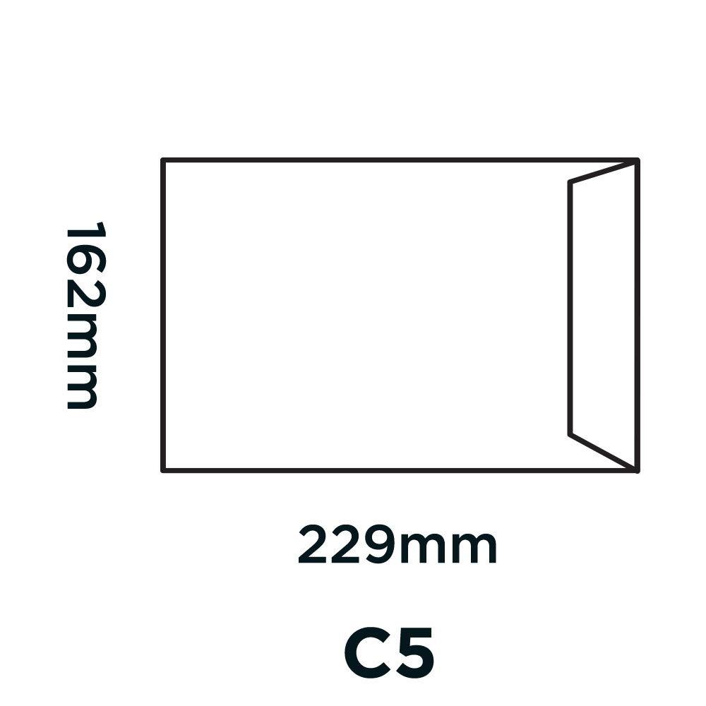 Busta per lettere colore: Bianco Blake Premium Office 25 pezzi 229 x 162 mm con chiusura adesiva formato C5