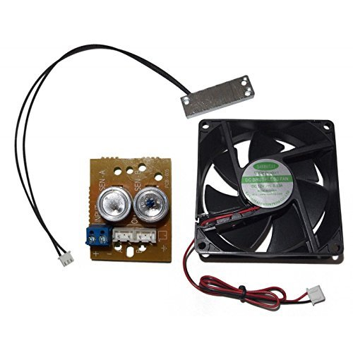Evertech 12V DC Heater & Blower/Cooler Fan Kit Spare Parts for CCTV Housing (No Housing/Bracket Included) -