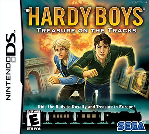 (The Hardy Boys Treasure on the Tracks - Nintendo DS)