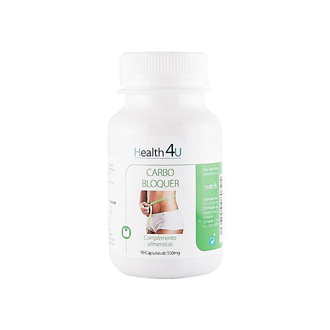 H4U - H4U Carblocker 90 cápsulas 550 mg: Amazon.es: Salud y cuidado personal