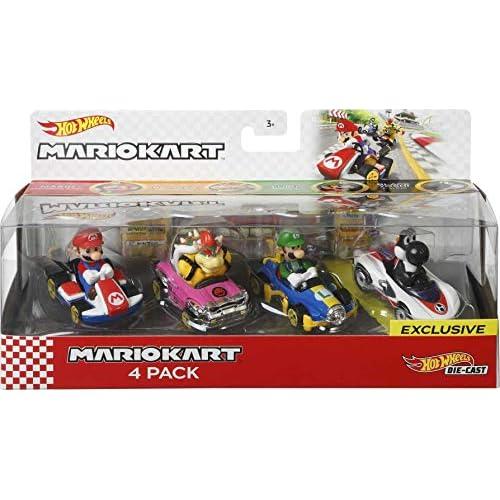 Hot Wheels Mario Kart Characters...