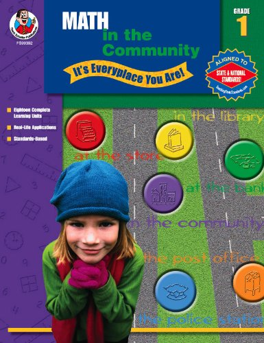 Math in the Community, Grade 1: It's Everyplace You Are pdf