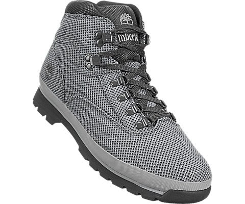 Timberland Euro Hiker Mid Fabric Men's Boot 8.5 D(M) US Grey by Timberland (Image #4)