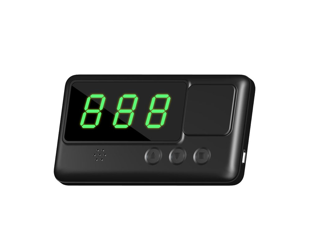 Kingneed C60 Universal HUD GPS Digital Speedometer Head UP Display Digital Car Speedometer Overspeed Alarm with Windshield Project for All Vehicle