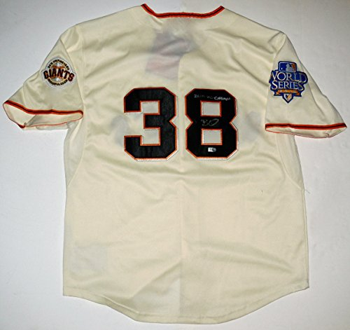 Brian Wilson Autographed Jersey (Giants) 2010 WS Champion! - MLB Hologram!
