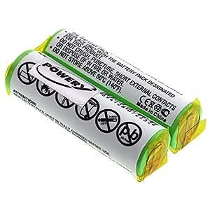 Batería para Philips HQ4850, 2,4V, NiMH