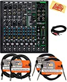 Mackie 10 Channel Professional Effects Mixer with