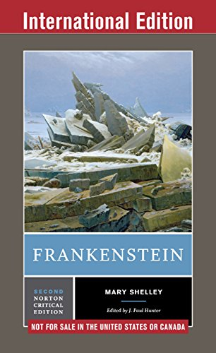 Amazon frankenstein second international student edition frankenstein second international student edition norton critical editions by shelley fandeluxe Gallery
