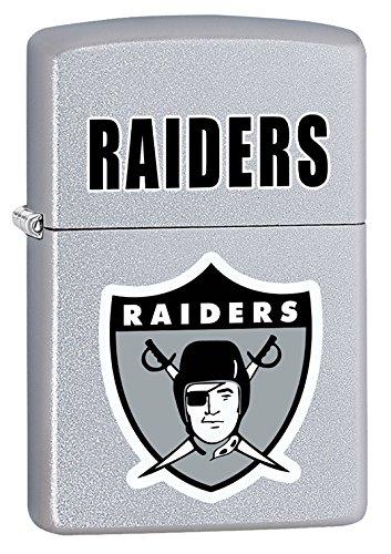 Zippo Zippo Nfl Lighter (Zippo Lighter NFL Throwback Oakland Raiders Satin Chrome)