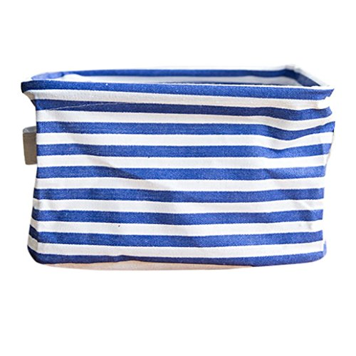 Storage Bins,IEason Foldable Colors Storage Bin Closet Toy Box Container Organizer Fabric Basket ...
