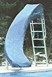 Swimming Pool Weather-Proof Winter Slide Cover - Left Curve
