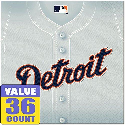 ''Detroit Tigers Major League Baseball Collection'' Luncheon Napkins, 432 Ct.