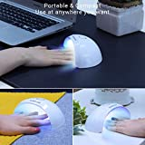 MelodySusie Portable UV LED Nail Lamp, Compact