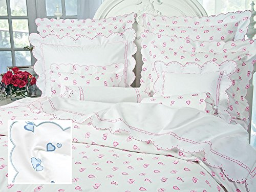Lovable 21, Sheet Sets, King (1 Flat, 1 Fitted, 2 Std. Shams) (Blue)