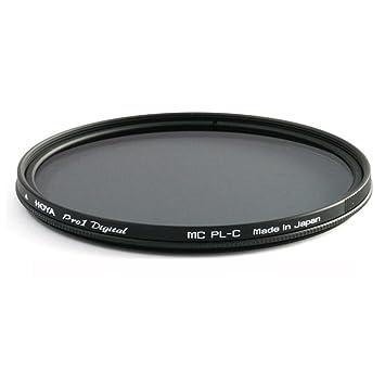 Hoya Pro1 Digital Circular - Filtro polarizador para objetivos de 77 mm, Negro