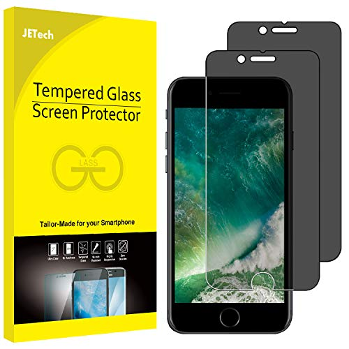 n Protector for Apple iPhone 7 and iPhone 8, Anti-Spy Tempered Glass Film, 2-Pack ()