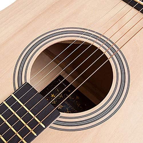 アコースティックギター 41インチナチュラル初心者のフルサイズクラシックギター 小学生 大人用 ギター初級 (色 : Natural, Size : 41 inches)