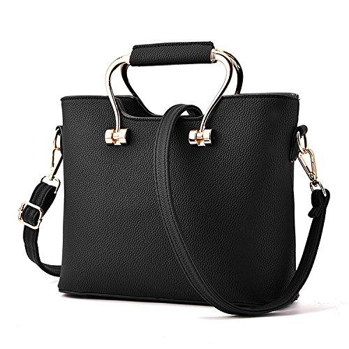 XYH PU Fashion 3 in 1 Cross Body Bags Satchel,Top-Handle Bags For Women.