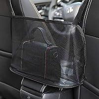 Car Handbag Holder, Seat Back Organizer Mesh Large Capacity Bag, Purse Storage & Pocket, Seat Back Net Bag, Handbag…