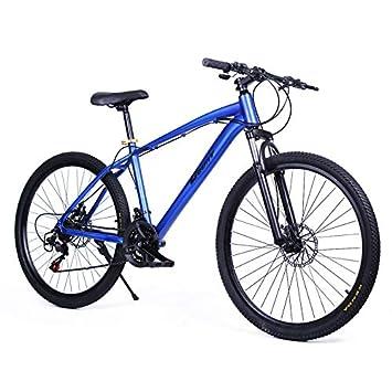 Riscko Bicicleta Mountain Bike de Aluminio Modelo Explorer con Ruedas de 26 (Azul