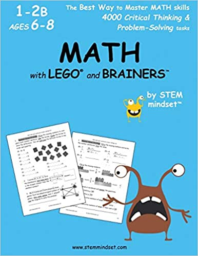 MATH with LEGO and Brainers Grades 1-2B Ages 6-8: llc stem ...