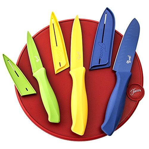 Fiesta 7-Piece Cutlery Set with Cutting Board image