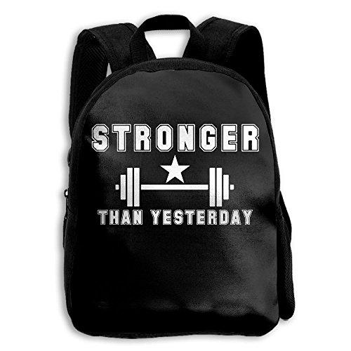 Stronger Than Yesterday Interest Print Custom Unique Casual Children Backpack School Bag Daypack - Sunglasses Stronger