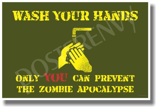 Wash Your Hands - New Humor Poster