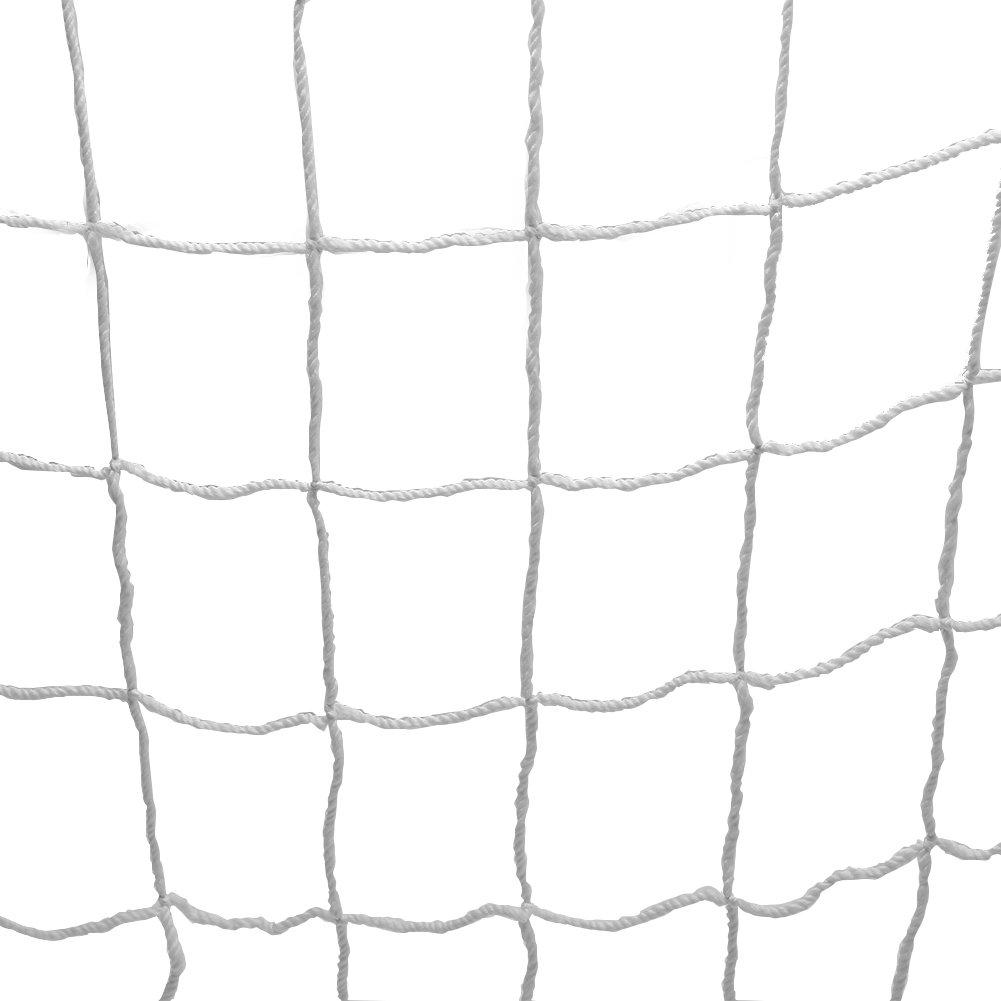 Football Training Net 6 × 4フィート/ 8 × 6ft / 12 × 6ft / 24 × 8ftサッカートレーニングNet forキッズジュニア裏庭スポーツKicking Practice Net withポリプロピレンファイバー材質 B076MP858M 8*6ft