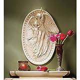 Design Toscano Angel of Grace Bas-Relief Wall Sculpture