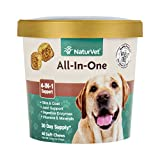 NaturVet All-in-One 4-IN-1 Support for Dogs, 60 ct Soft Chews, Made in USA