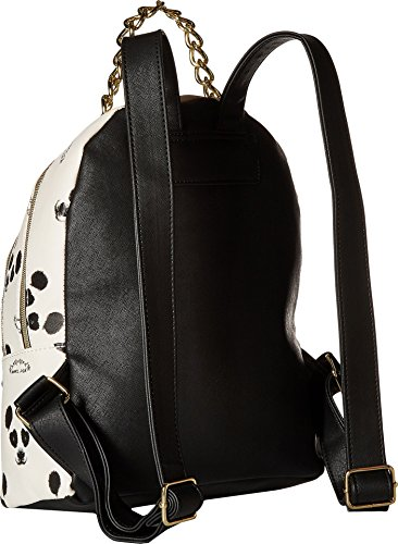 Zip Womens Triple Betsey Black Backpack Johnson Cream A7zZwnZq