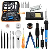 Soldering Iron Kit YISSVIC Welding Kit 60W 110V Adjustable Temperature Welding Tool