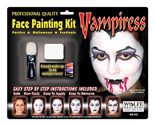 Vampiress Makeup Kit - Wolfe Bothers (Vampiress Makeup)