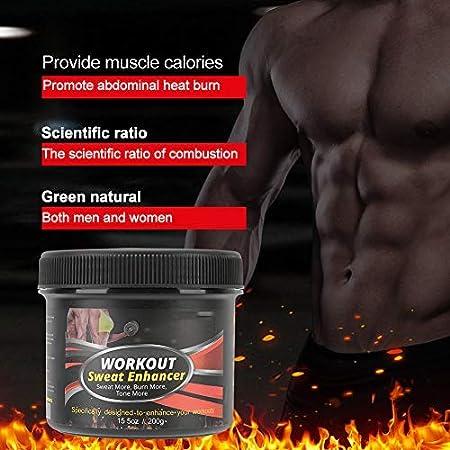 Crema Adelgazante, Quema grasa, Tratamiento anticelulítico, Crema para el sudor caliente, Crema para eliminar la celulitis para quemar grasa muscular, ...